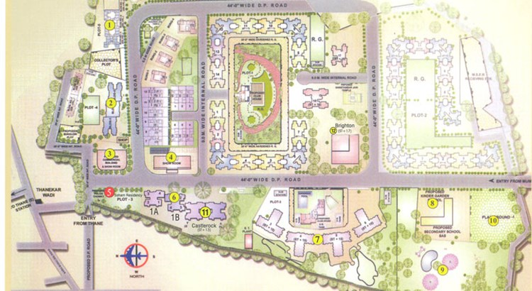 Soham Residency lay out