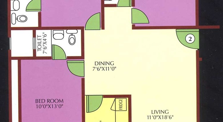 Whispering Meadows Three Bedroom plan