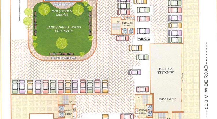 Bhoomi Heights First Floor Plan