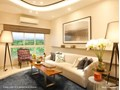Lodha Amara Living Room