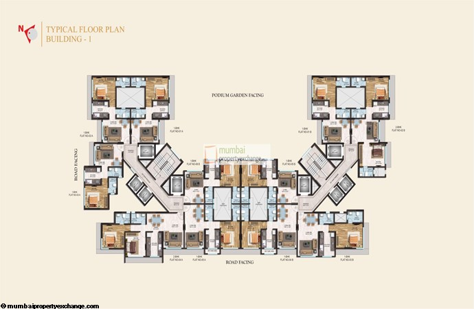Crystal Armus Typical Floor Plan