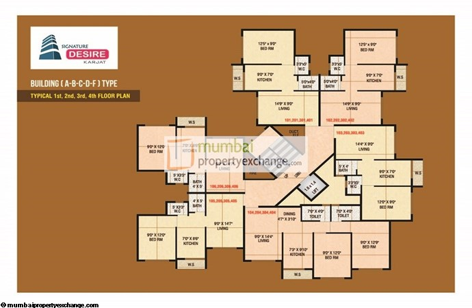 Signature Desire Floor plan