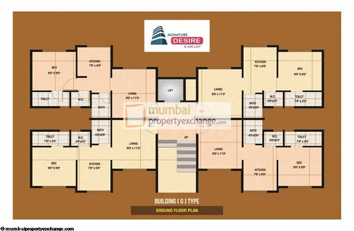 Signature Desire Floor plan 2