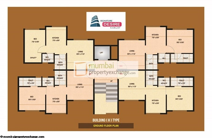 Signature Desire Floor plan 3