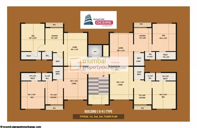 Signature Desire Floor plan 4