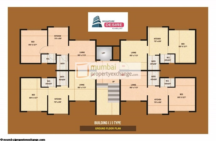 Signature Desire Floor plan 5
