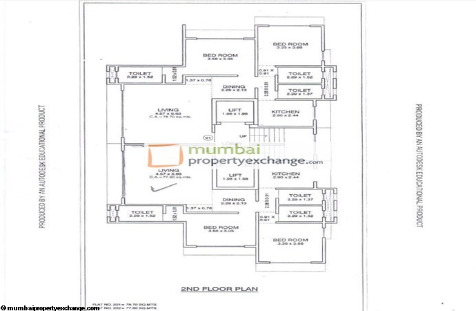 Aangan Floor plan