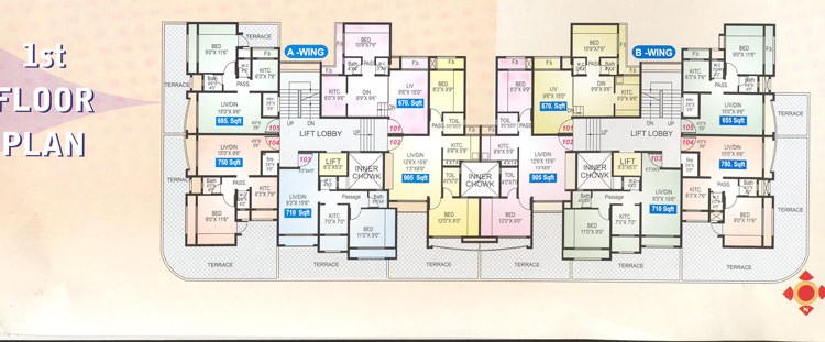 Sai Sagar floor plan