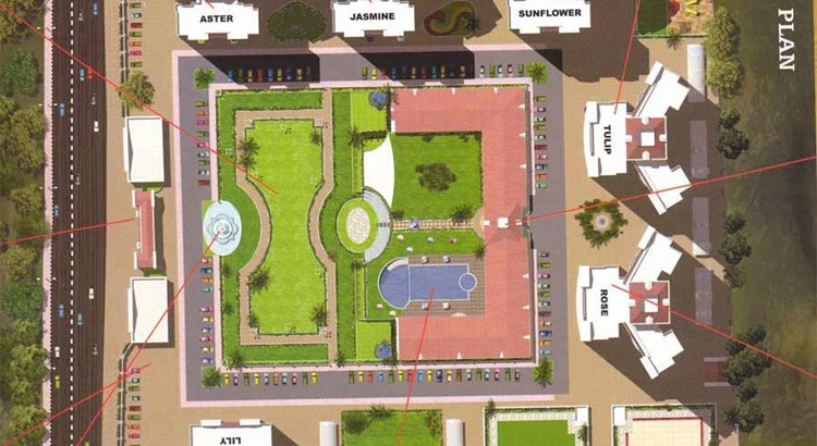 Regency Gardens Layout