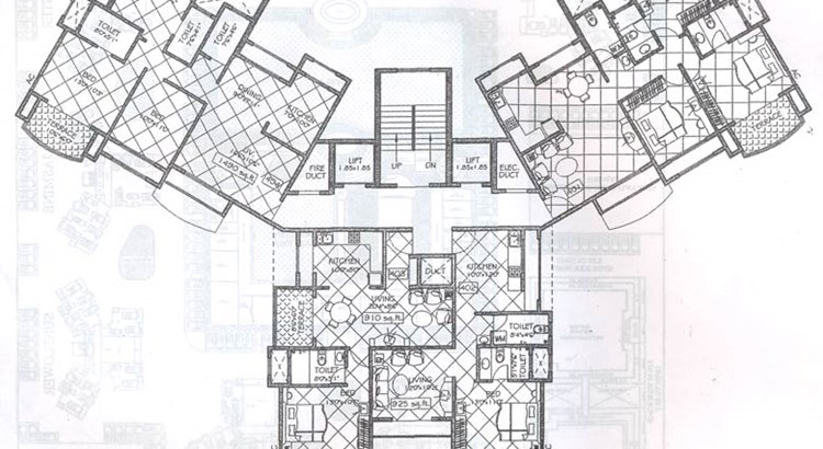 Regency Gardens Typical Floor Plan