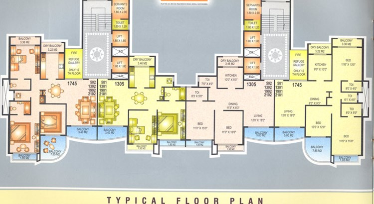 Beverly Park floor plan