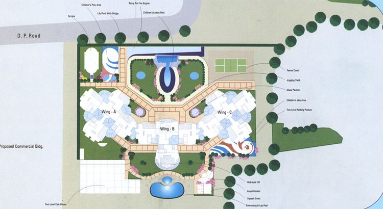 RNA Royale Park  Lay Out