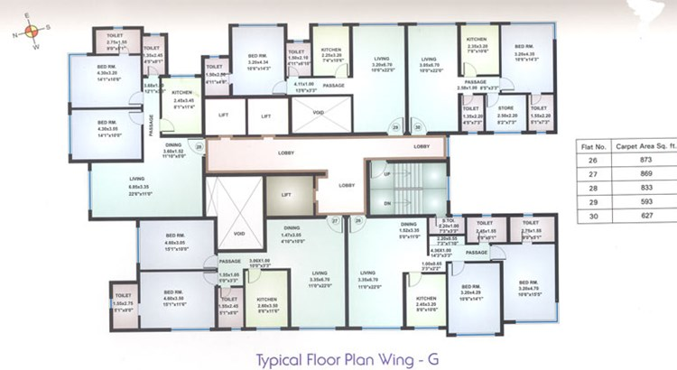 Maple Leaf Floor Plan