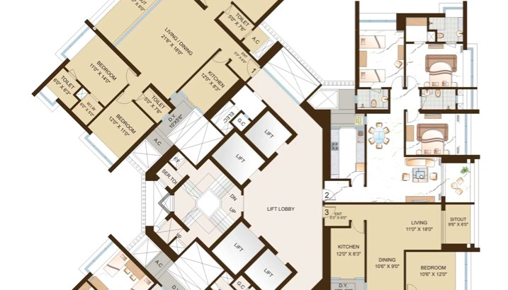 Orchid Woods Floor Plan