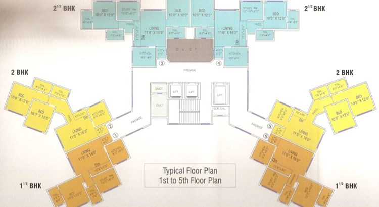 Mahavir Universe Floor Plan