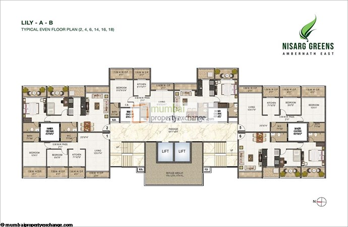 Nisarg Greens Floor Plan 1