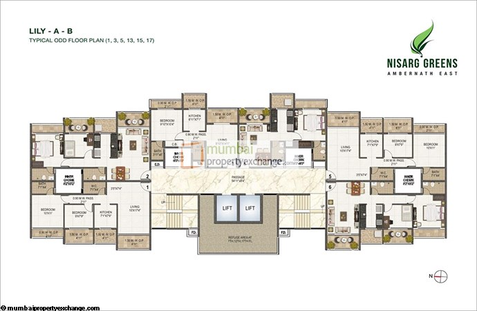 Nisarg Greens Floor Plan 2