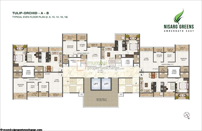 Nisarg Greens Floor Plan 3