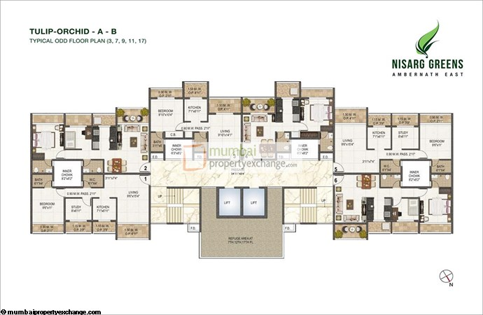 Nisarg Greens Floor Plan 4