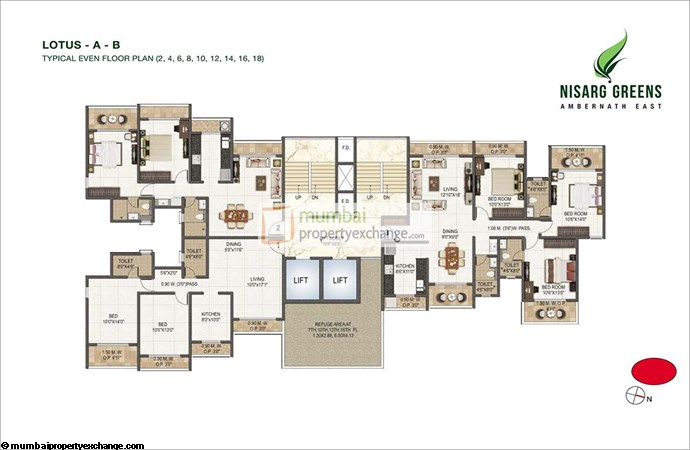 Nisarg Greens Floor Plan 5