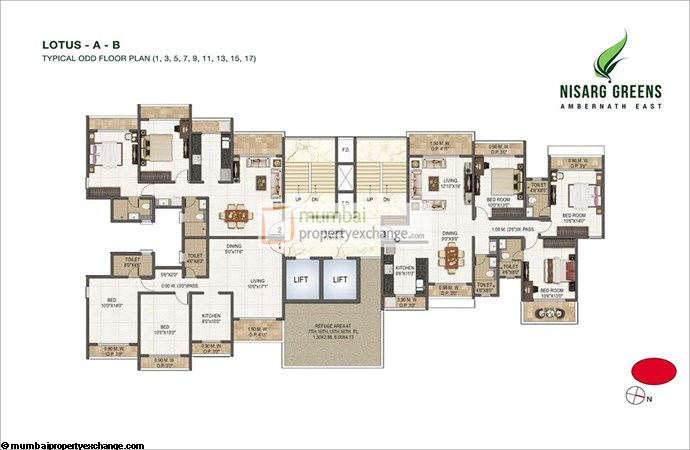 Nisarg Greens Floor Plan 6