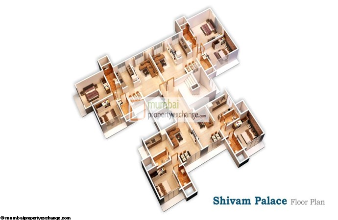 Shivam Palace Floor plan