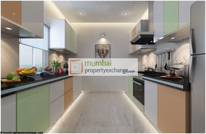 Marina Enclave Fortuna Kitchen Plan