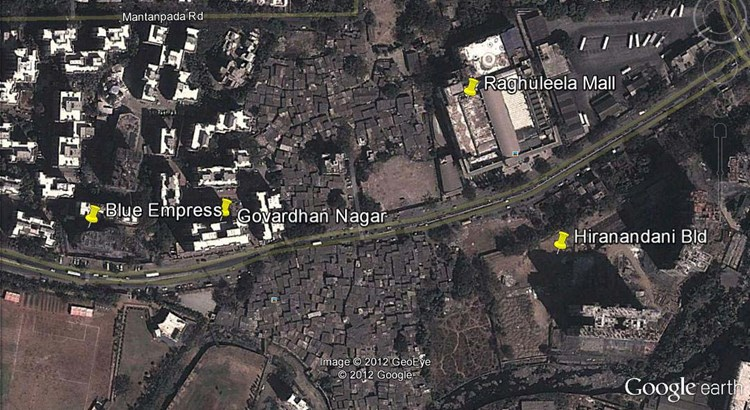 Govardhan Nagar Google Earth