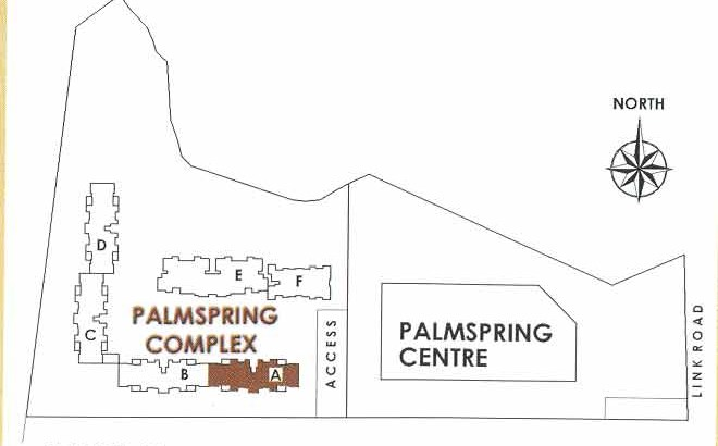 Palm Springs  Block Plan