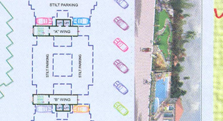 Prajapati Lawns Layout Plan