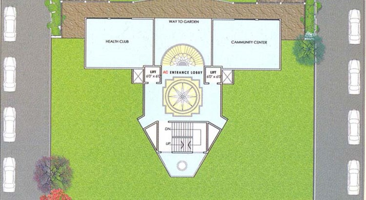 Sai Ansh 1st floor Plan