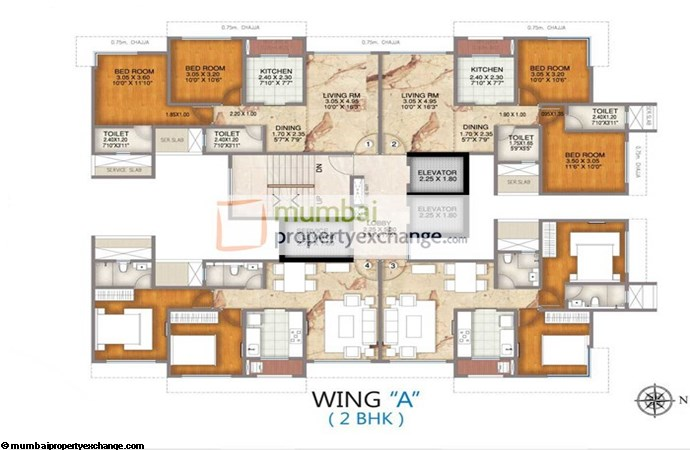 Celestial A wing 2BHK