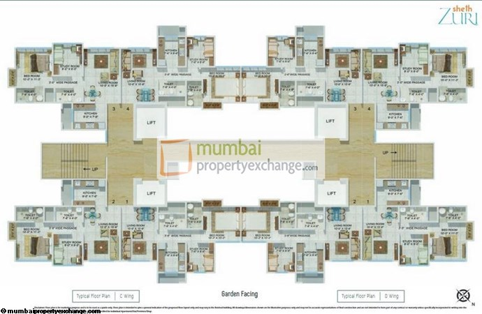 Sheth Zuri Floor Plan 1
