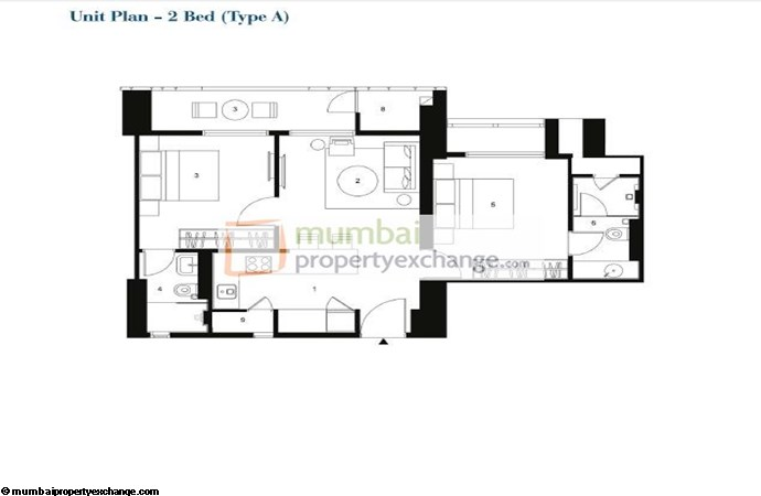 Lodha Codename Floor plan