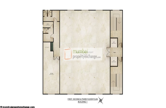 Radhey Galaxy Building 1 Floor Plan