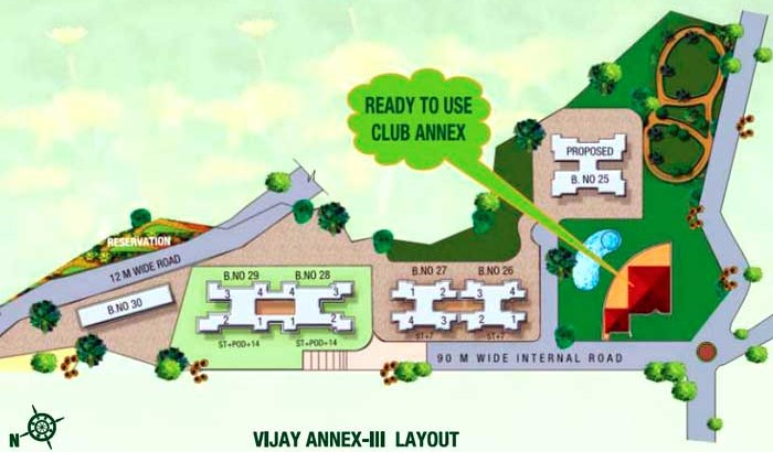 Vijay Annex Phase III Layout
