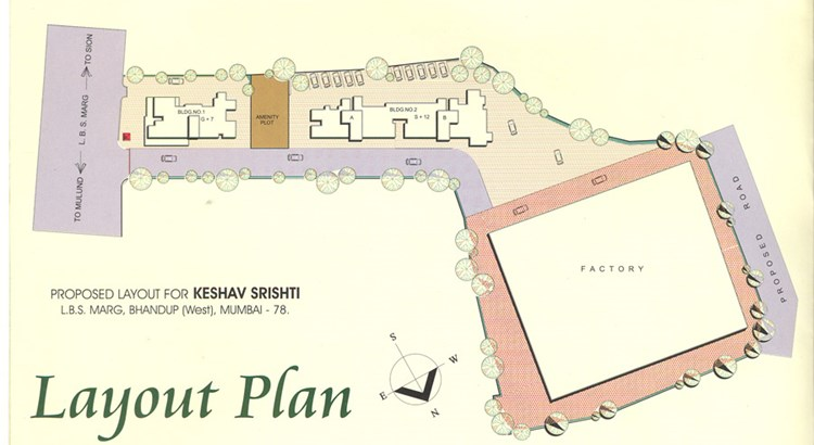 Keshav Srishti Lay Out