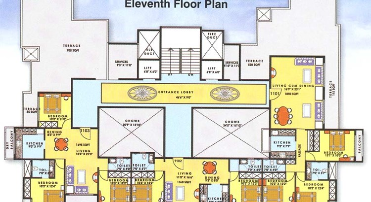 Sai Swarg Floor Plan