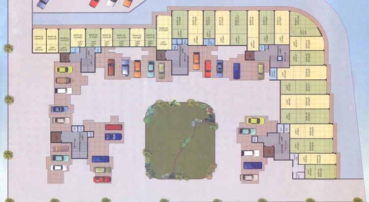 Manjari Paradise Ground Floor Plan