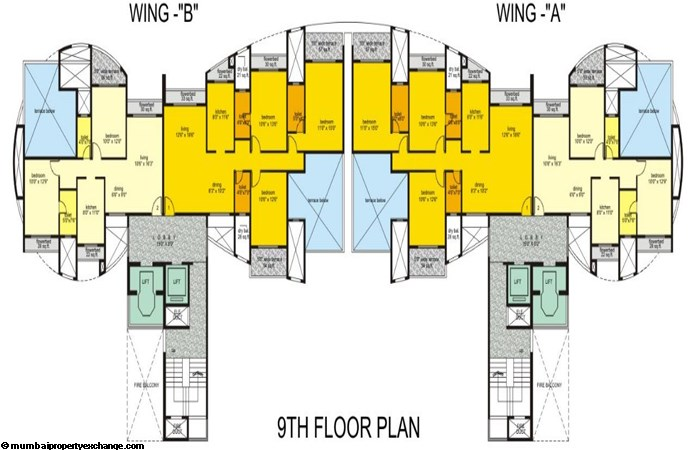 Hills Residency Floor Plan