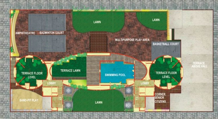 Hills Residency Layout