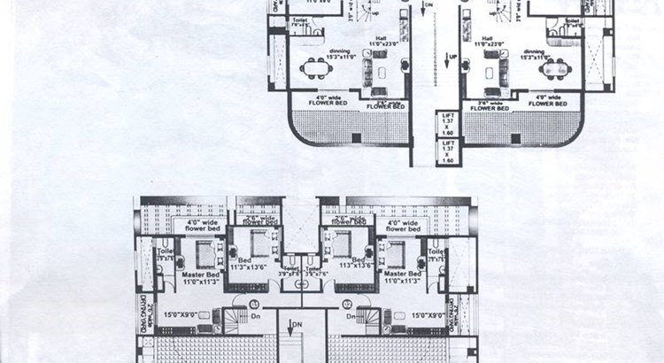 Ann Villa 8 and 9 Floor Plan