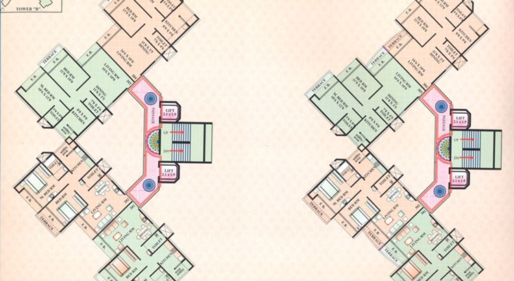Ashoka Residency floor plan