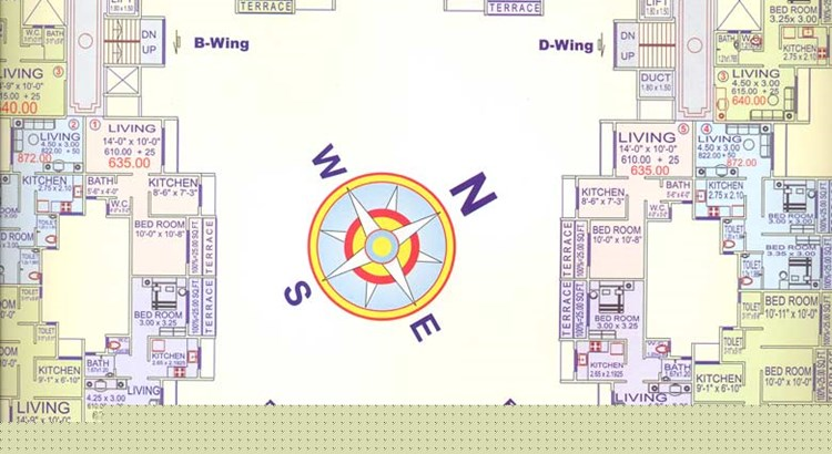 Krishna Apartments floor plan