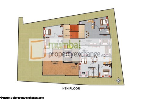 Atlas Royal 14th Floor Plan