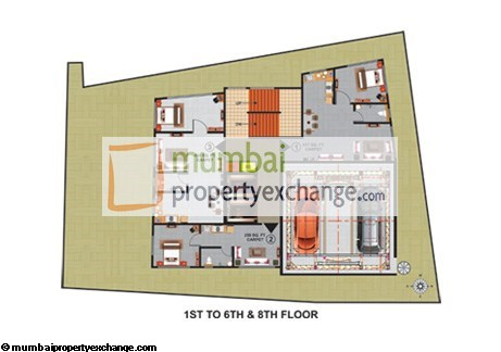 Atlas Royal 1th-6th-8th Floor Plan
