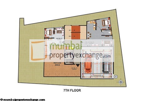 Atlas Royal 7th Floor Plan