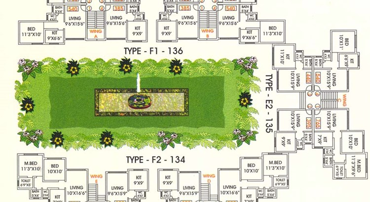 Gokul Sathsang Ground Floor Plan