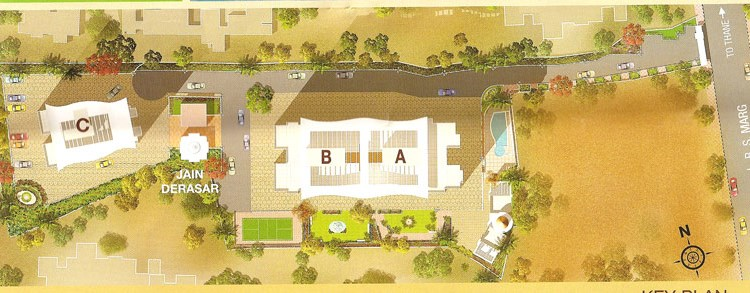 Chheda Heights Lay Out
