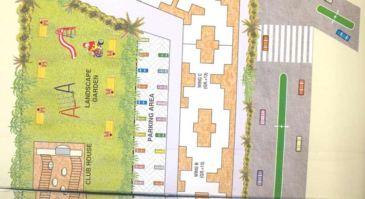 Pooja Enclave Lay Out